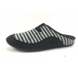 Zapatillas de estar por casa GARZON negro ROMA
