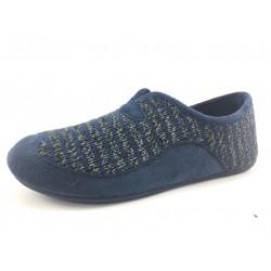 Zapatillas de estar por casa GARZON azul FLORENCIA