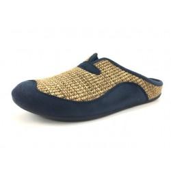 Zapatillas de casa Hombre color cuero Garzon