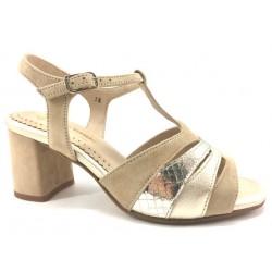 Zapato Piesanto sandalia color Beig
