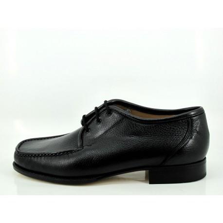 Zapato Rexach negro cordones