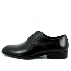 Zapato Angel Infantes cosido puntera negro