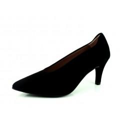 Zapato Dibia negro nobuk. Zapato Salón. ENVIO Y CAMBIO GRATUITO