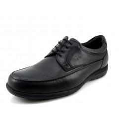 Zapato Fluchos negro cordones
