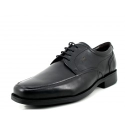 Zapato Fluchos Light negro vestir