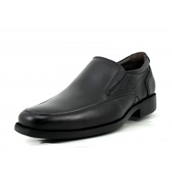 Zapato Fluchos Light mocasín negro