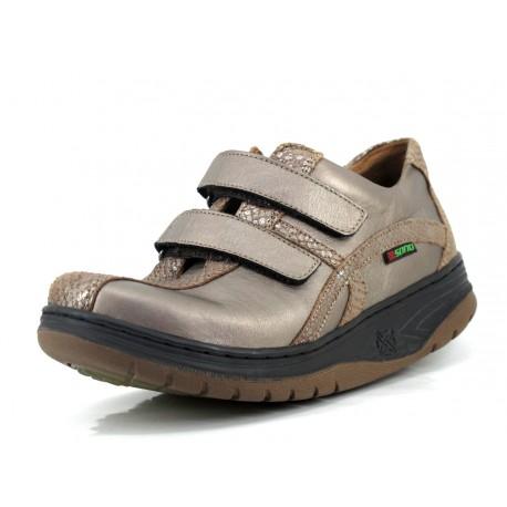 Zapato Sano Enjoy Pewter