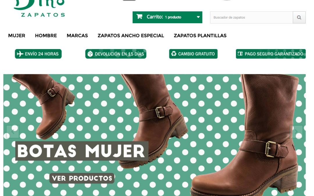 Por qué comprar zapatos online en Dino Zapatos