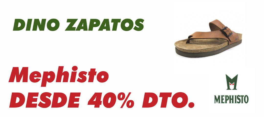 Mephisto desde un 40% de descuento en Dino Zapatos