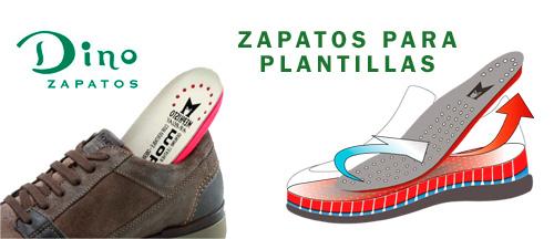 En Dino Zapatos estamos especializados en zapatos para plantillas