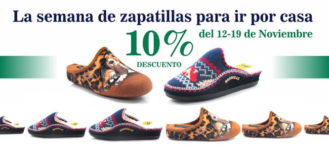 Llega la Semana de las zapatillas de casa a Dino Zapatos