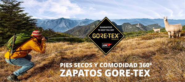 ¿Waterproof o Gore Tex?