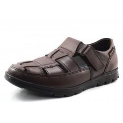 Zapato Kenneth Mephisto Mobils marrón- Ancho especial